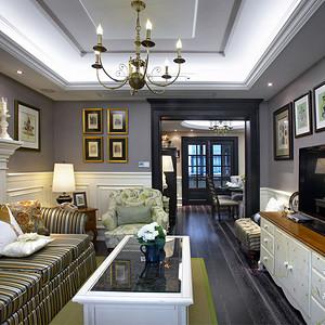 南国中心两房两厅新古典装修效果图