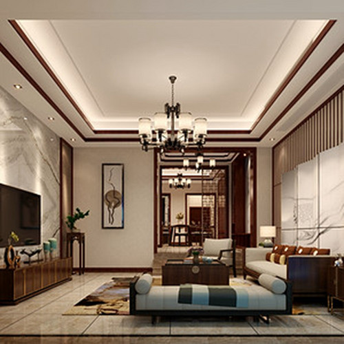 碧桂园500㎡新中式别墅