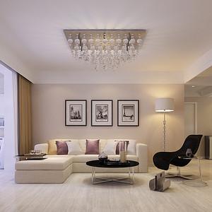宏达明尚-三居室-现代简约风格