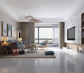 现代简约--客厅