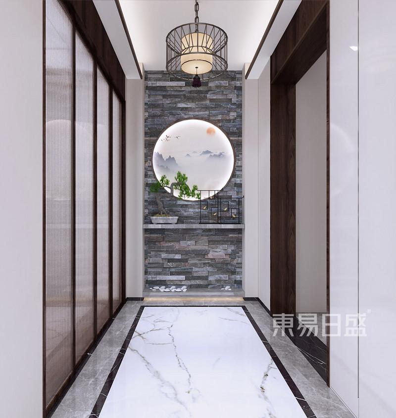 新中式 - 南城汇龙湾新中式玄关装修效果图图片
