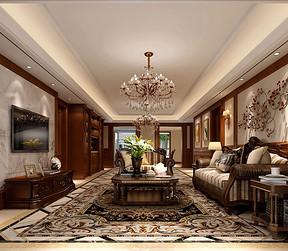 金科世界城 美式风格 客厅