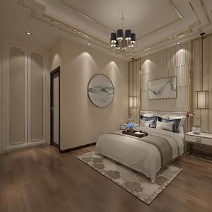 松山湖3号别墅负一层卧室装修效果图