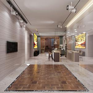 丽彩溪悦城 新中式装修效果图 四室两厅 215㎡