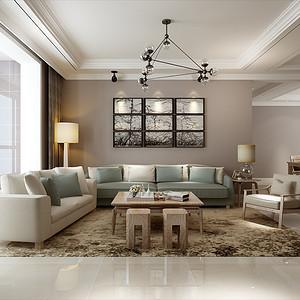 星河盛世城-三居室-现代简约风格