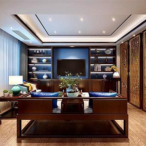 一念·水云堂:泰州400平别墅新中式