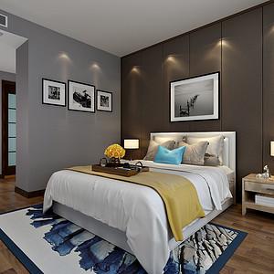 崇德园现代简约风格卧室装修效果图