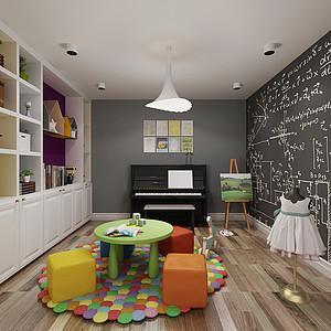 美式轻奢-儿童房