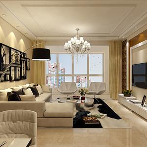 奥北公元-三居室-现代简约风格