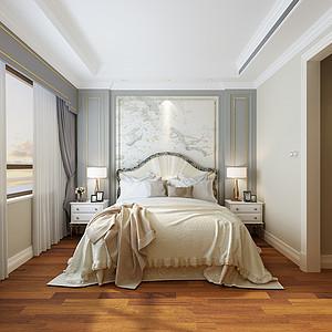 大连现代简约装修-卧室