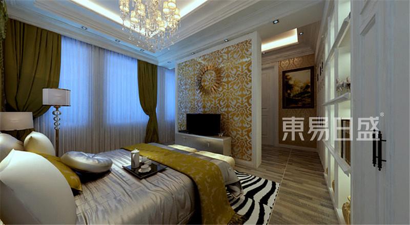 欧式古典 - 富力津门湖欧式风格卧室装修效果图