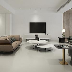 高科朗山 极简主义装修效果图 四室两厅 180平米