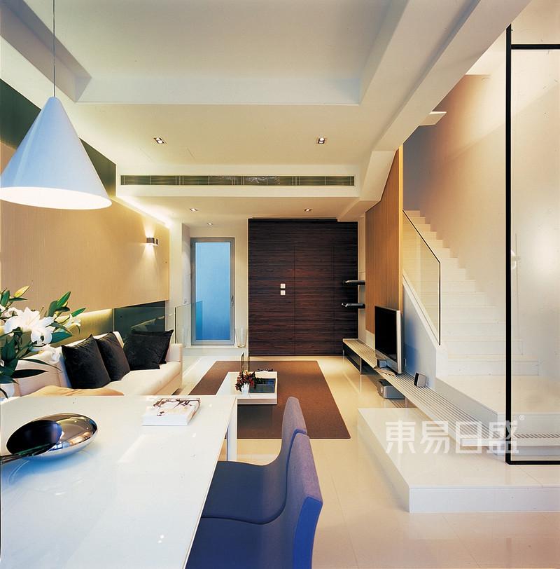 现代简约 - 客厅-现代简约式装修风格