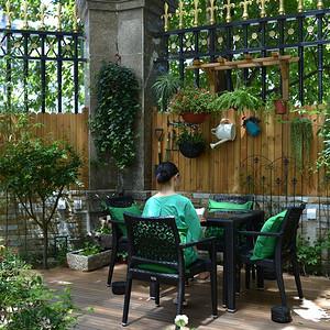 中海紫玉公馆-庭院装修效果图