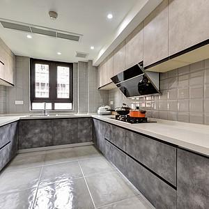 现代风格厨房实景图