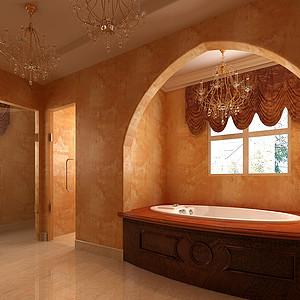 玛歌庄园法式新古典风格卫生间装修效果图