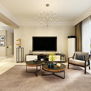 广安云棠-三室二厅-现代简约风格装修案例