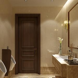 远洋万和公馆-新中式-卫生间