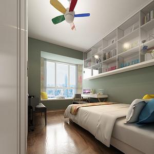 星海名城 现代风格 儿童房装修效果图