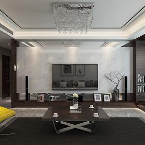 光华里小区-四居室-现代简约风格