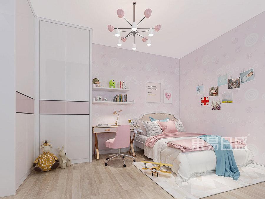 儿童房现代简约风格效果图