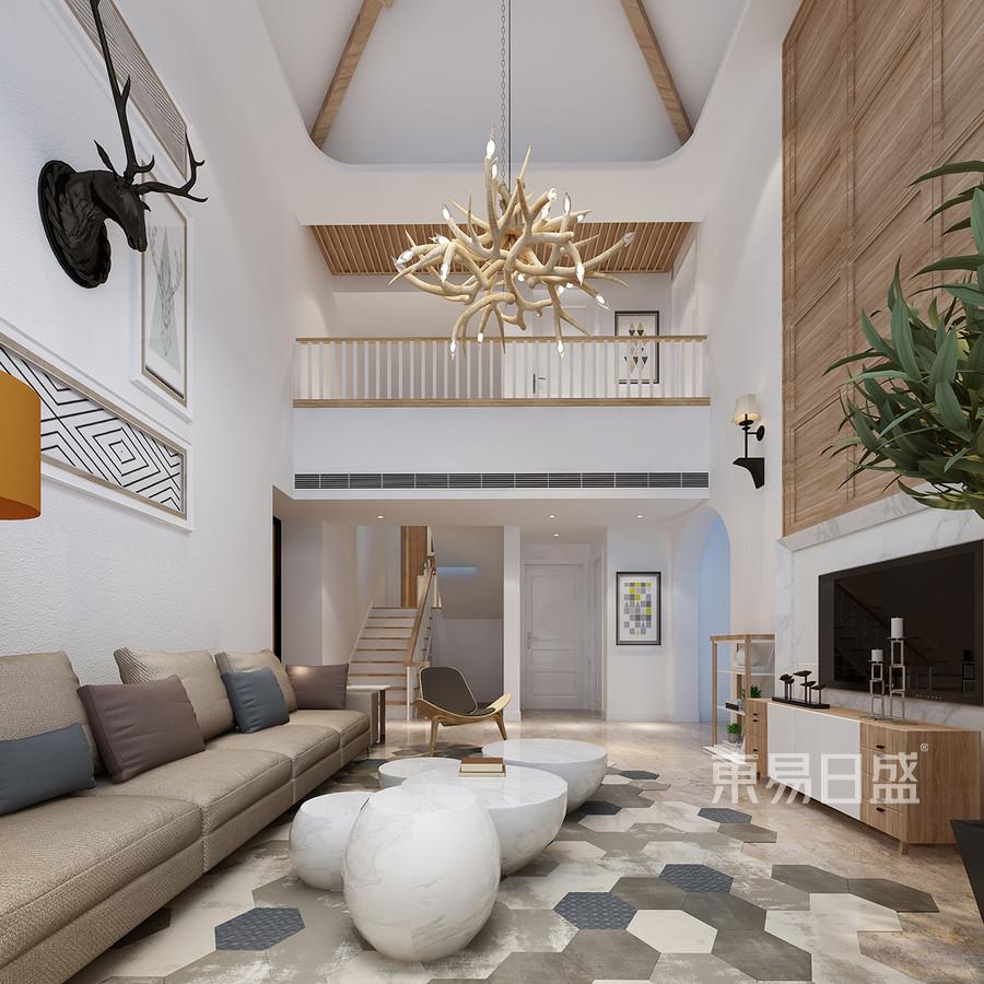 图库列表 客厅北欧装修效果图 复式效果图   分享  收藏  空间  风格