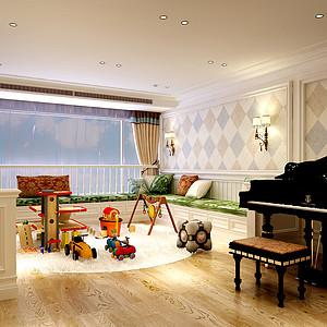 新世界_欧式风格_240平_儿童房