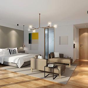 主卧室装修效果图 北欧风格