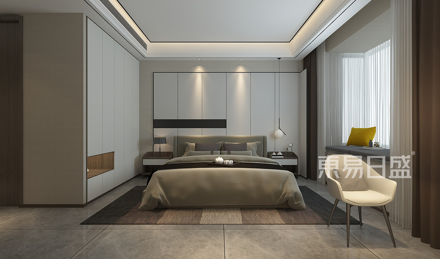 现代新极简风格卧室装修设计