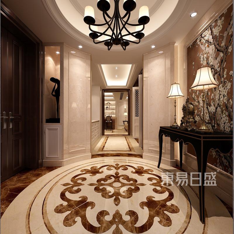 其他- 美式门厅效果图