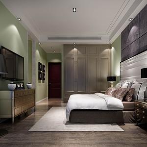 新古典风格 卧室装修效果图