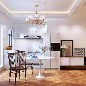 法式风格厨房效果图