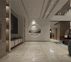 蘭栖墅现代中式客厅装修效果图