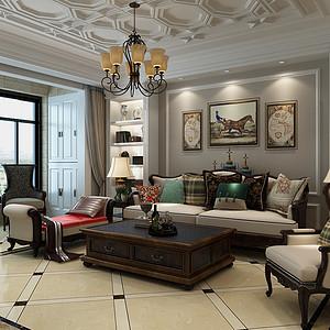 星河盛世城-209平米-古典风格