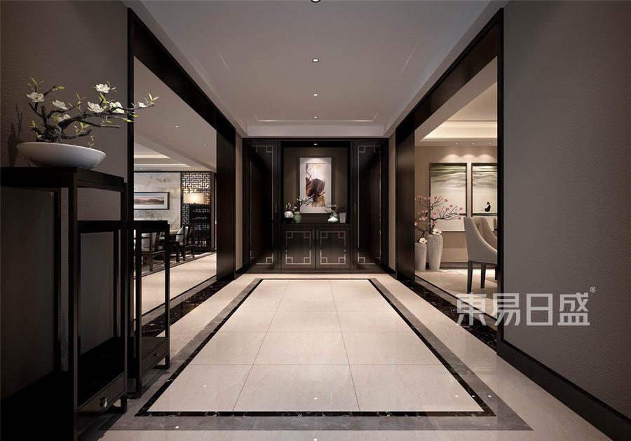 新中式门厅装饰效果图图片
