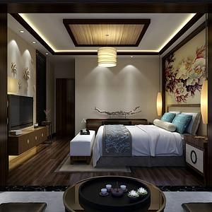 金怡华庭 现代简约装修风格卧室