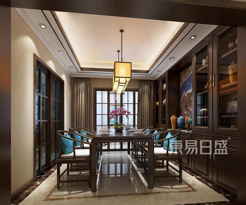 新中式 - 餐厅装修效果图-新中式风格装饰设计