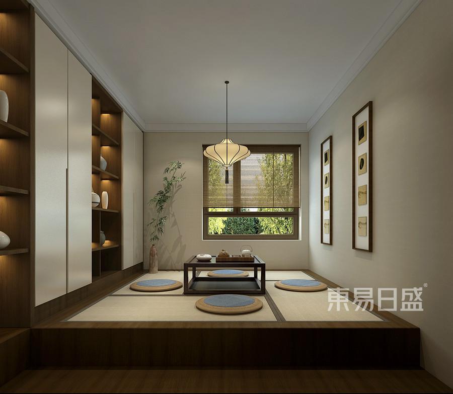 新中式风格榻榻米装修效果图