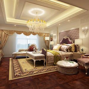 丁山 美式新古典 卧室