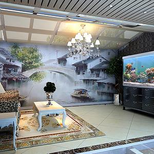 紫玉山庄-美式乡村-阳台