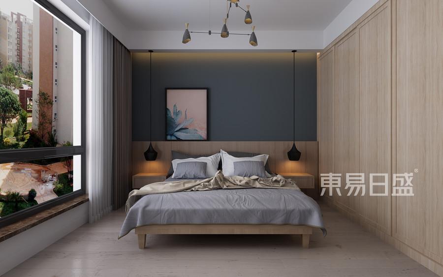 三居室-现代简约-效果图