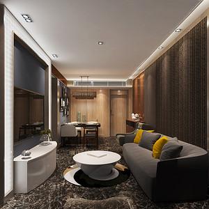 四季御园  现代风格  客厅