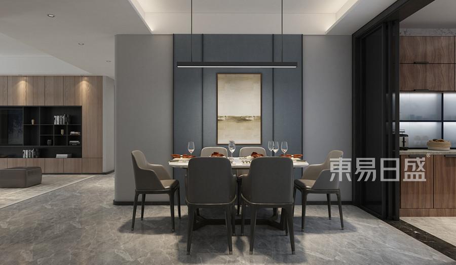 現代簡約風格餐廳裝修設計