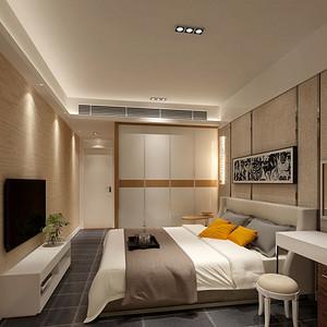 四季御园  现代风格 卧室