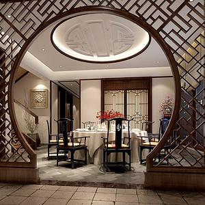 湘江一号500平米中式别墅