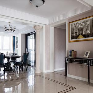 欧式古典玄关装修设计效果图