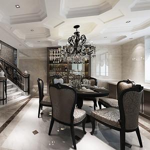 南京碧桂园 现代简约 餐厅
