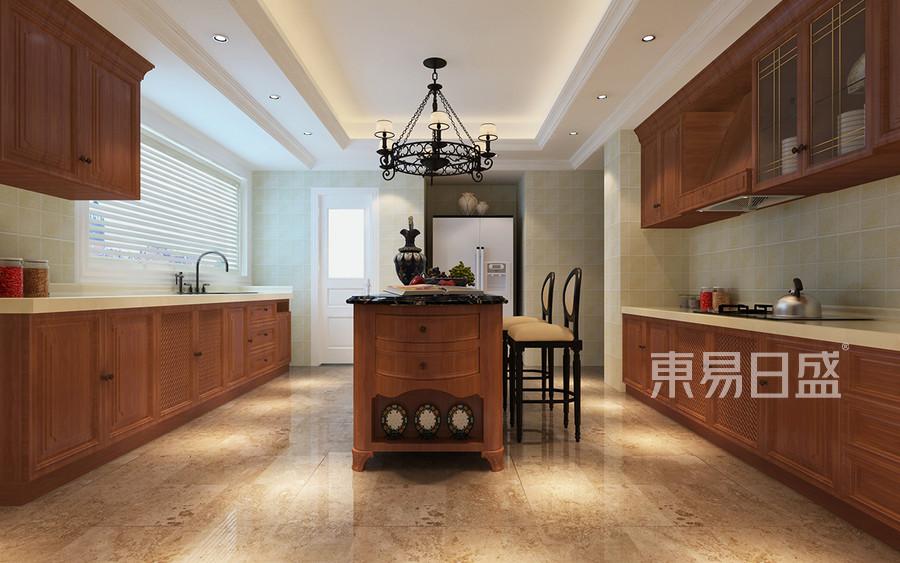 厨房美式装修效果图 4室2厅1厨3
