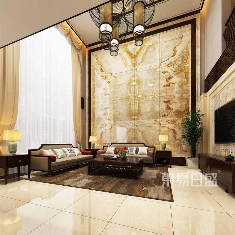魅力对称-600㎡新中式别墅案例设计方案