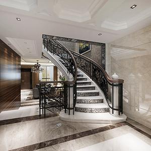 南京碧桂园 现代简约 楼梯